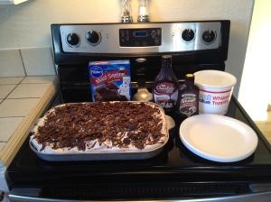 Chocolate Chocolate Poke Cake 2