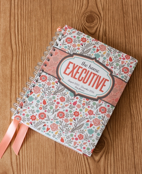The Home Executive 2015-2016 Planner